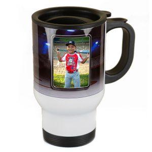 Plastic travel mug 14 oz new england studio