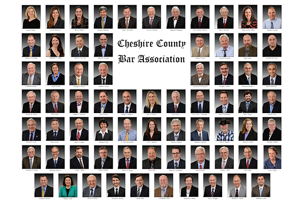 Cheshire County Bar Association Composite photography New England Studio Keene NH