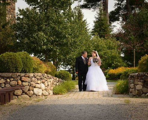 Wedding Photography & Videography Bride and Father