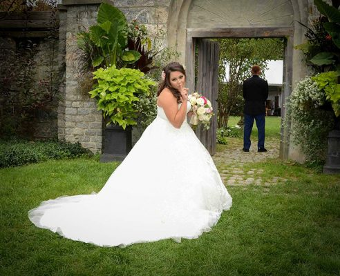 Wedding Photography & Videography First Look NH