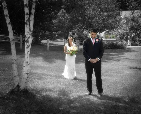 Wedding Photography & Videography NH MA First Look