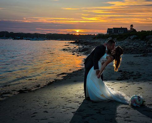 Wedding Photography & Videography NH MA Rye Harbor State Park